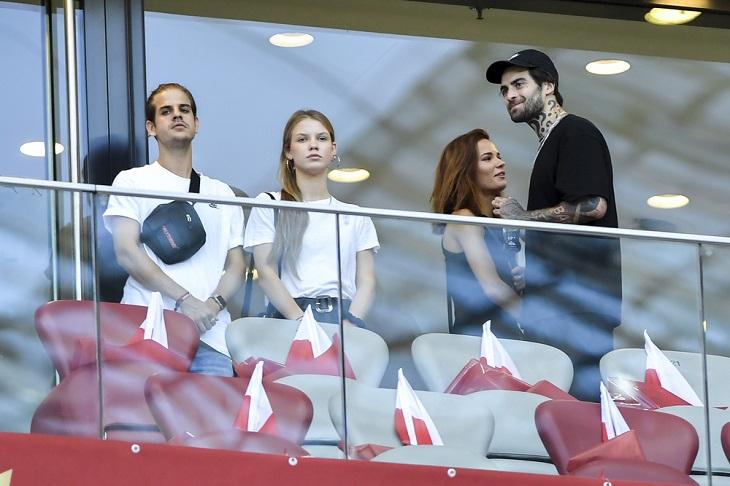 Podczas meczu Polska-Izrael na trybunach nie brakowało gwiazd!